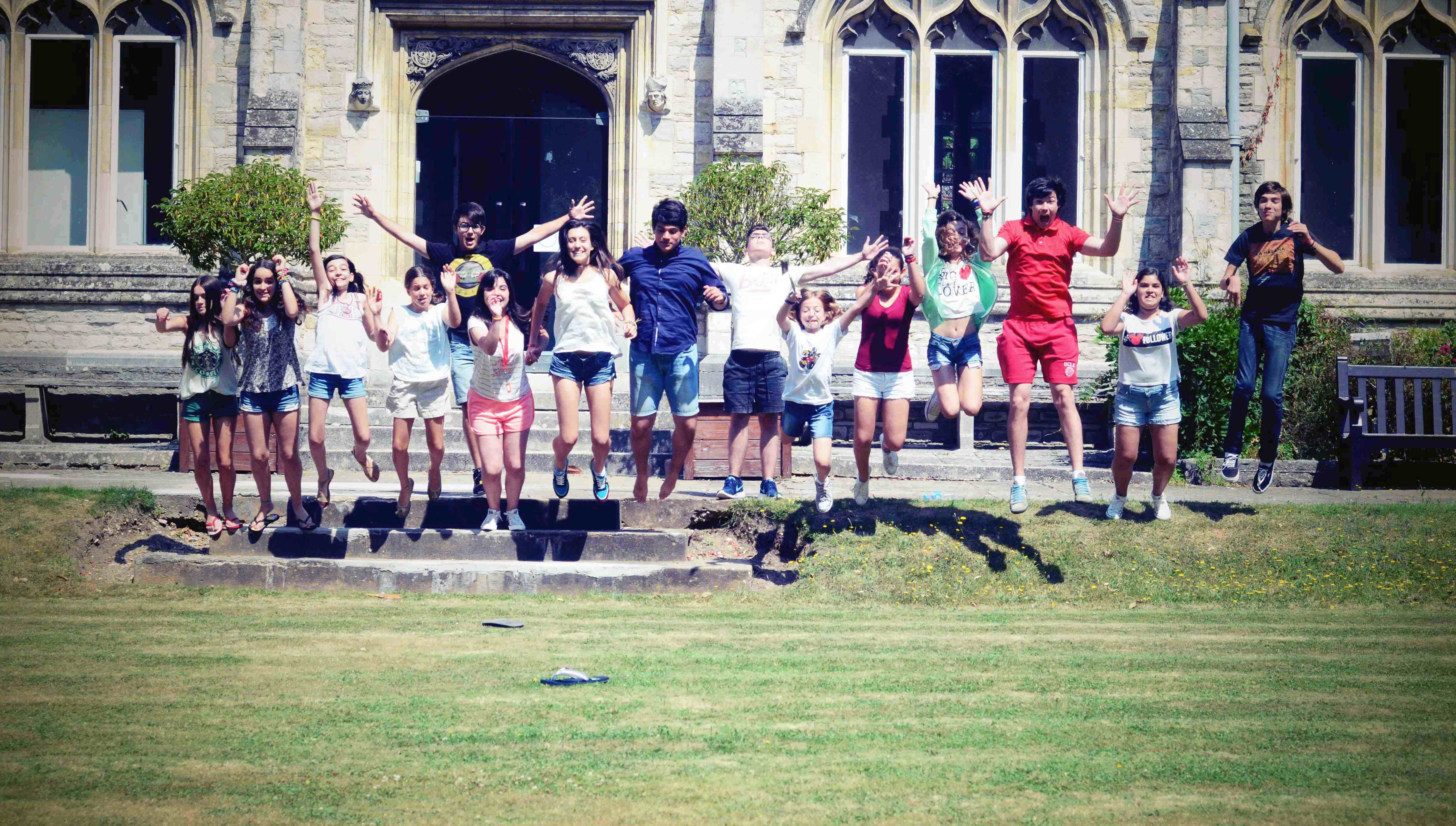kids jumping chichester