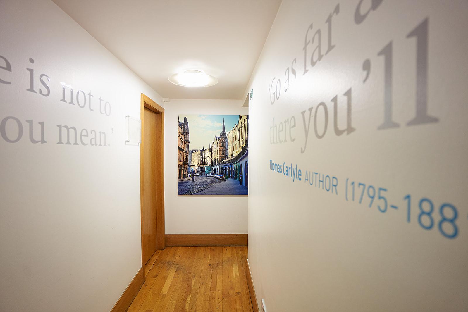 BSC Edinburgh Hallway