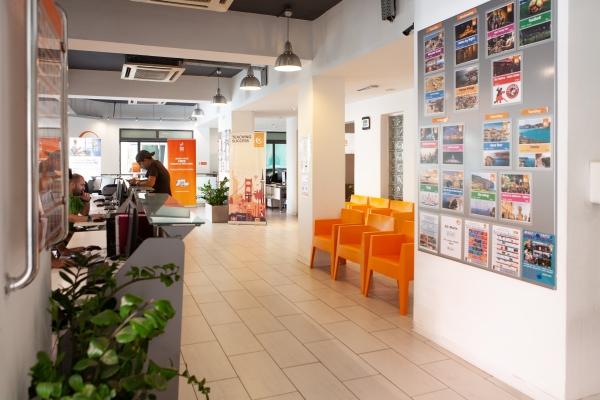 EC Malta reception area